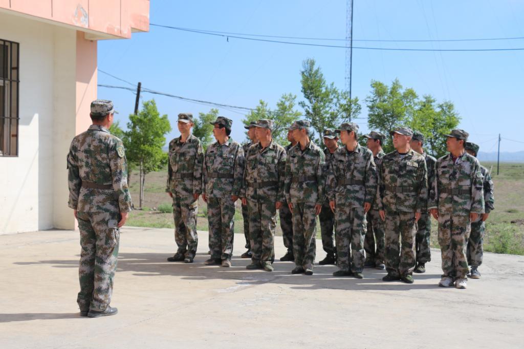 博尔羌吉镇开展维稳处突应急军事训练-巴里坤县政府